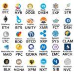 Список криптовалют и их стоимость в рублях
